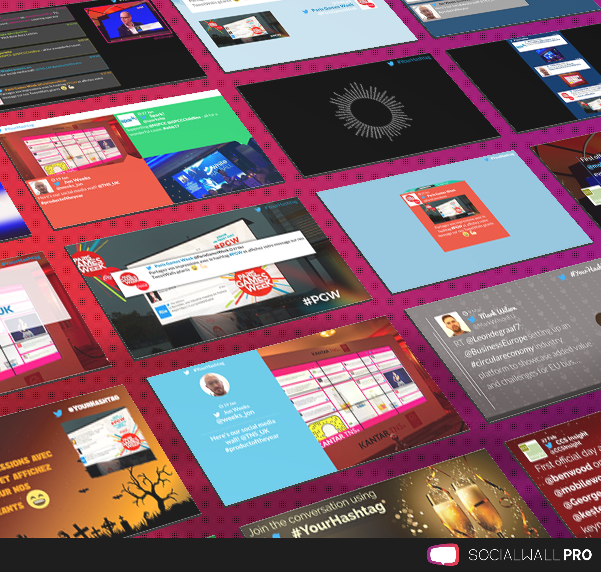 which social wall is right for your awards ceremony